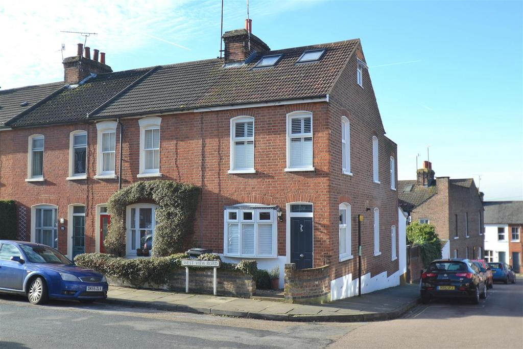3 Bedrooms End Of Terrace House for sale in West View Road, St. Albans