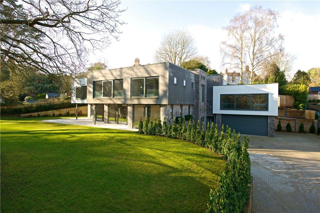 5 Bedrooms Detached House for sale in Sandy Lane, Aspley Heath, Woburn Sands, Bedfordshire