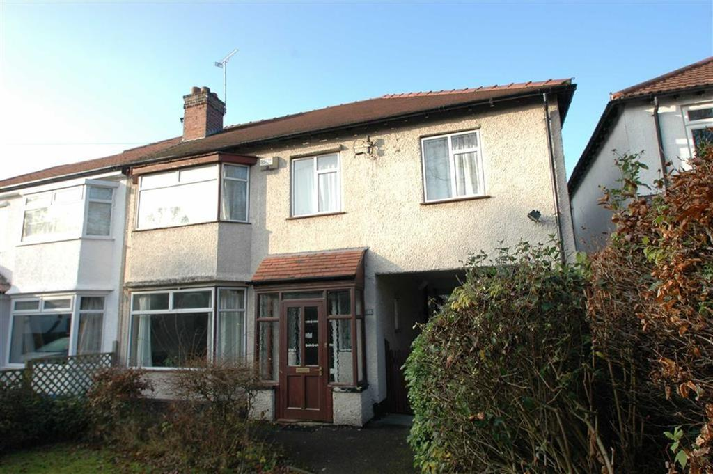 4 Bedrooms Semi Detached House for sale in Caughall Road, Upton, Chester