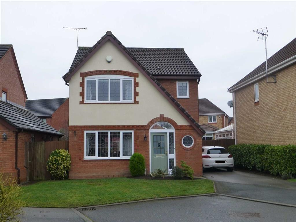 3 Bedrooms Detached House for sale in Plassey Close, Wrexham