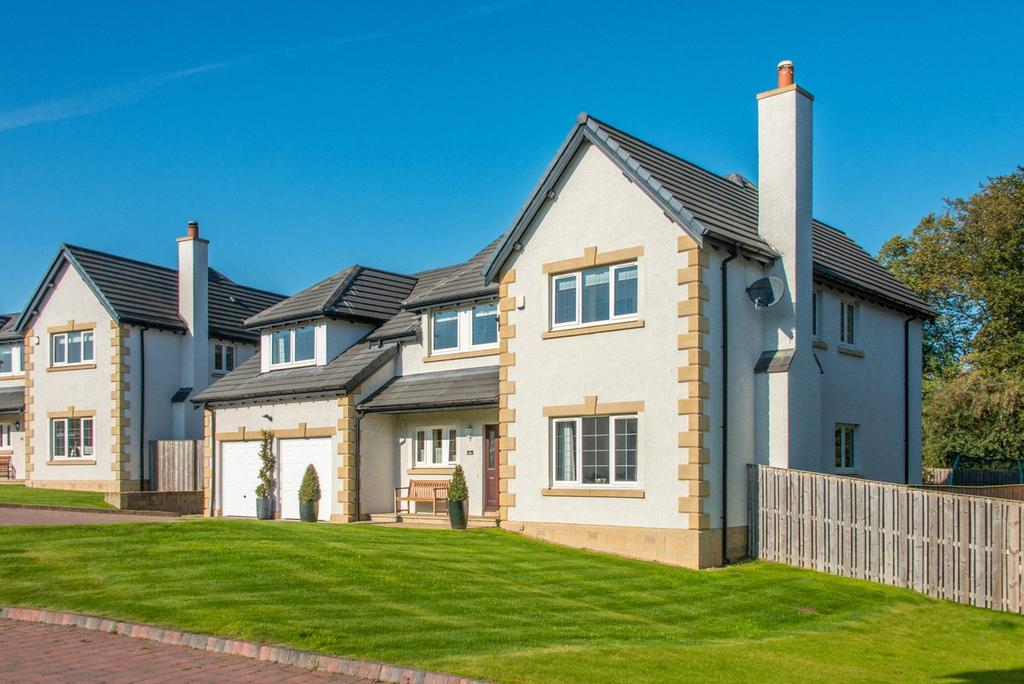 5 Bedrooms Detached House for sale in 22 Beechgrove Rise, Cupar, Fife, KY15
