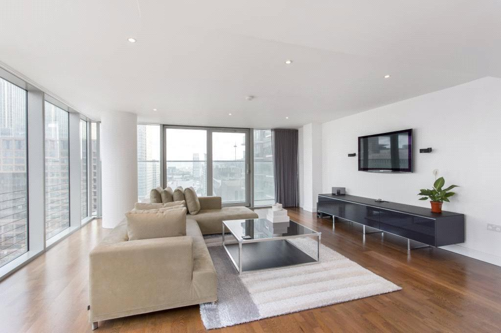 3 Bedrooms Flat for sale in Landmark West Tower, 22 Marsh Wall, London, E14