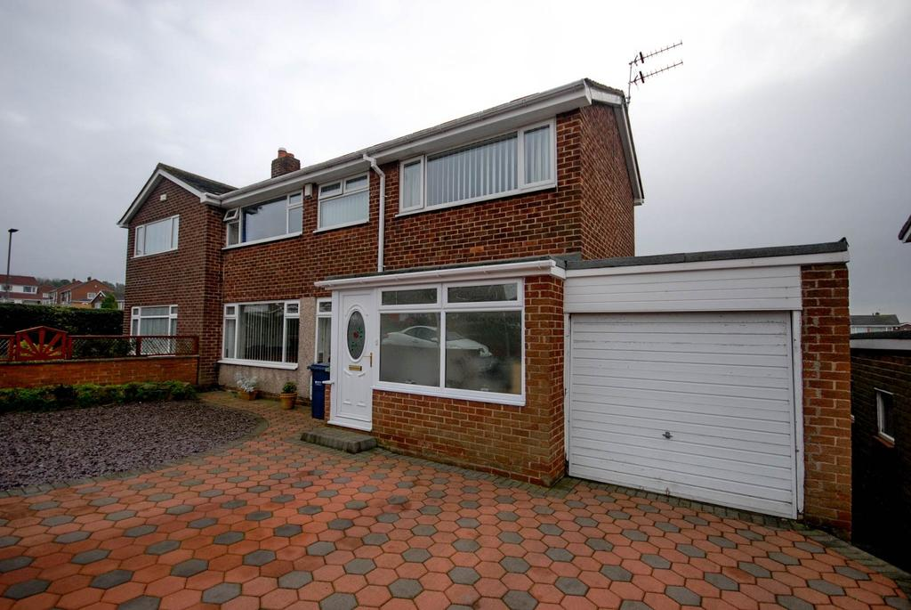 3 Bedrooms Semi Detached House for sale in Scafell, Birtley