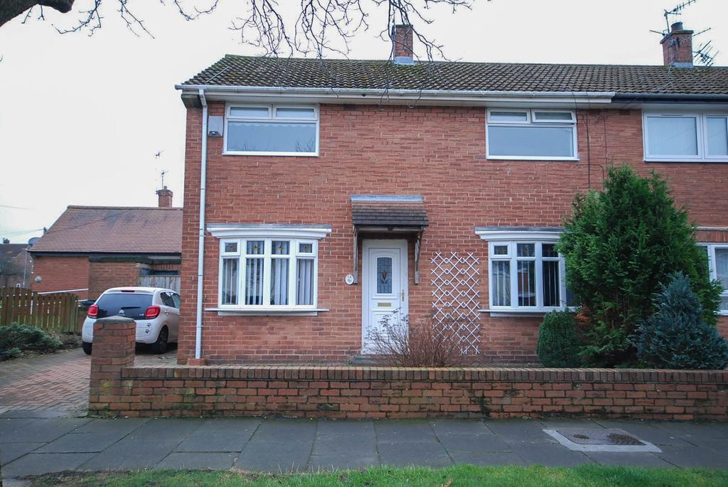 3 Bedrooms Semi Detached House for sale in Bolburn, Leam Lane