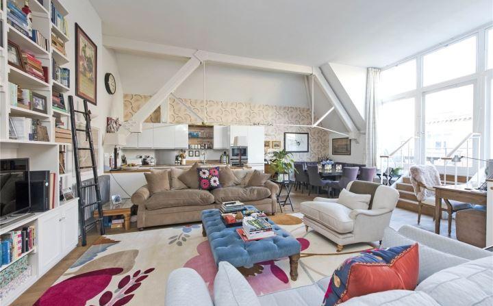 2 Bedrooms Flat for sale in Mountford Mansions, 100 Battersea Park Road, London, SW11