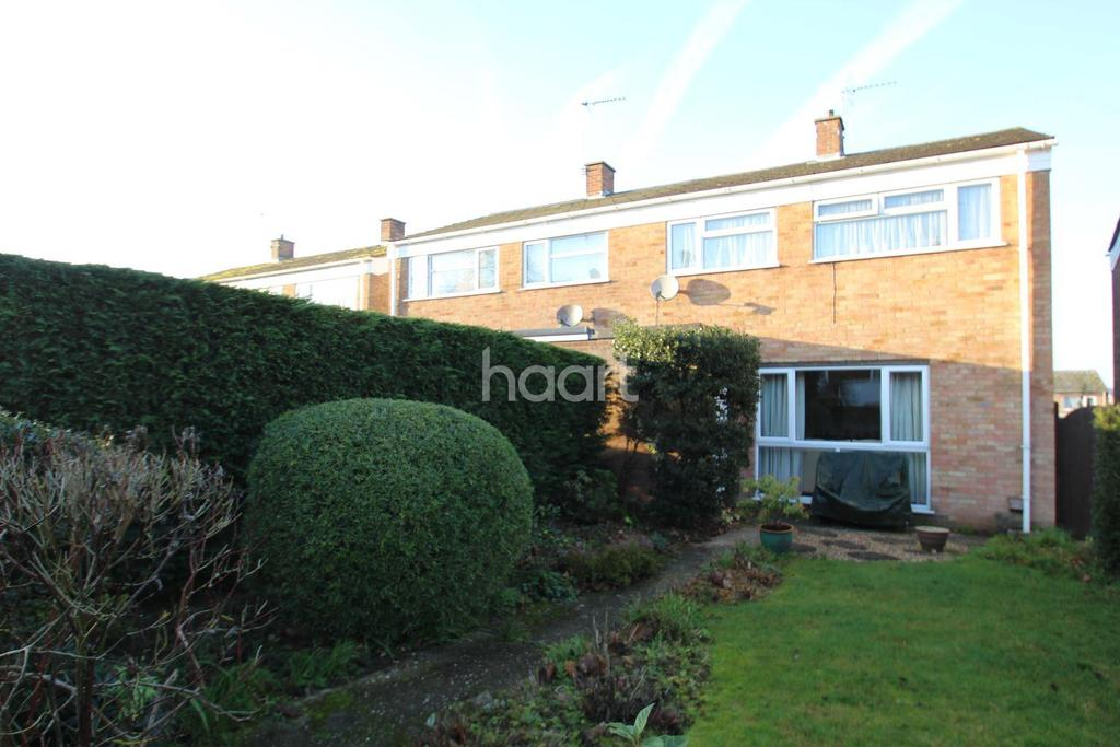 3 Bedrooms Semi Detached House for sale in Sherborne Road, Bury St Edmunds.
