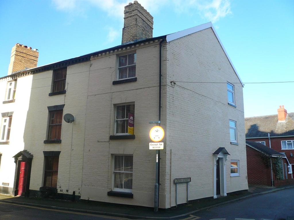 3 Bedrooms Terraced House for rent in Cross Street, Kerry Road, Newtown, Powys