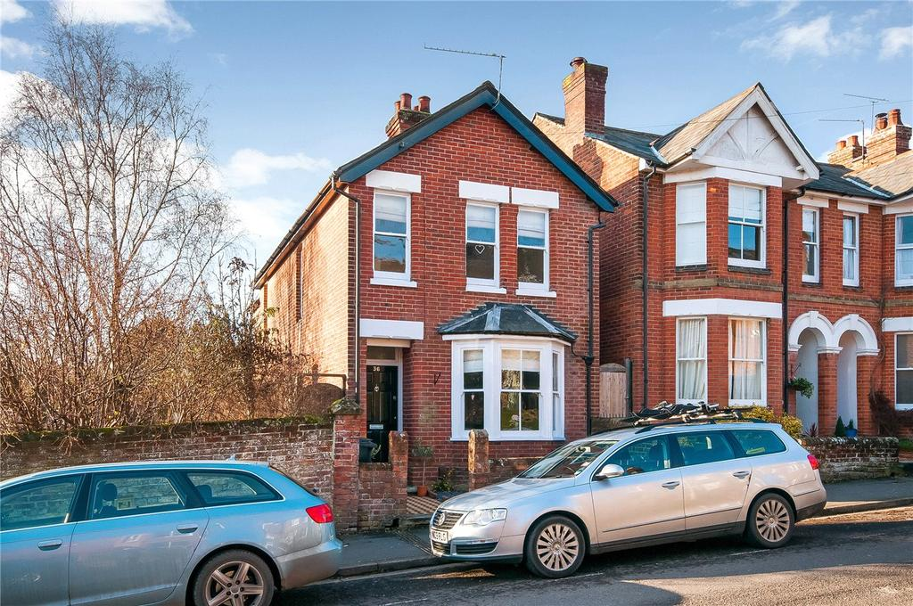 3 Bedrooms Detached House for sale in Cranworth Road, Fulflood, Winchester, SO22