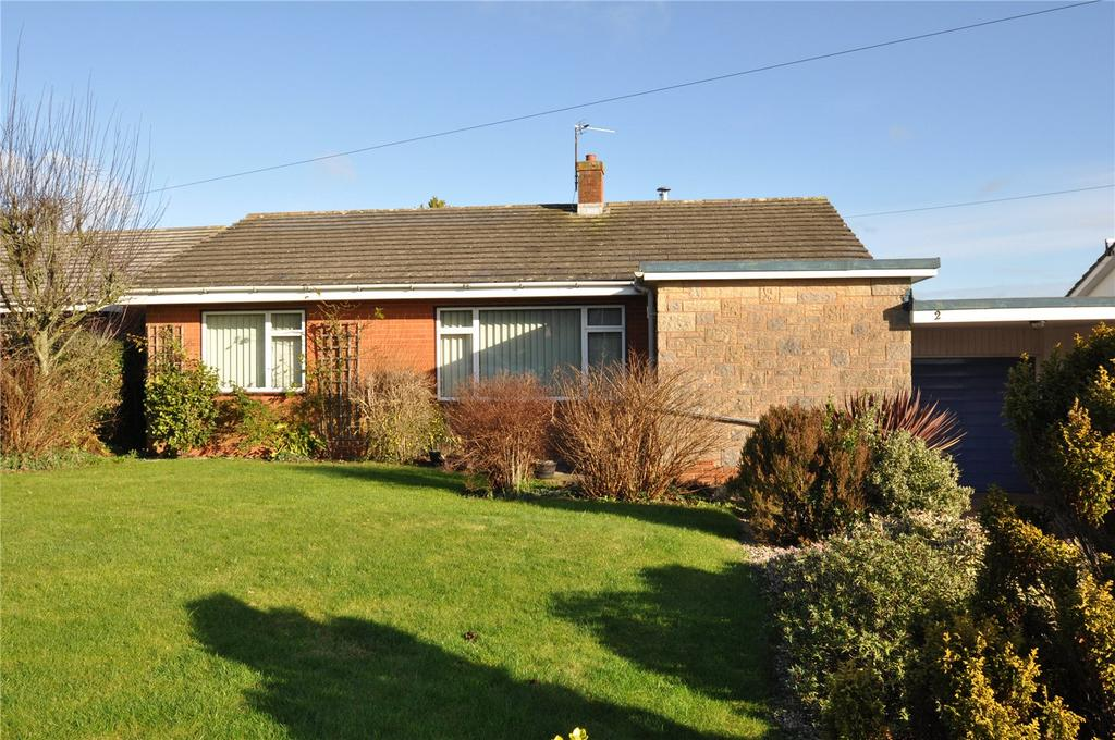 3 Bedrooms Bungalow for sale in Blackdown View, Sampford Peverell, Tiverton, Devon, EX16