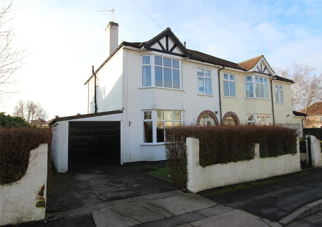 3 Bedrooms Semi Detached House for sale in Delvin Road, Westbury-on-Trym, Bristol, BS10