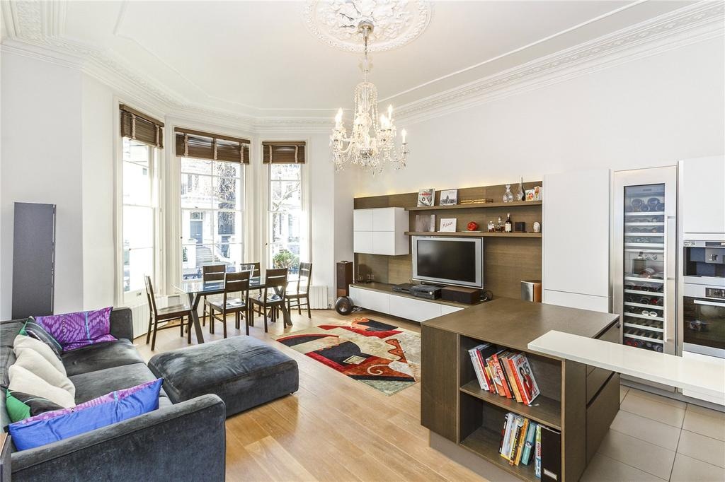 2 Bedrooms Flat for sale in Redcliffe Gardens, London