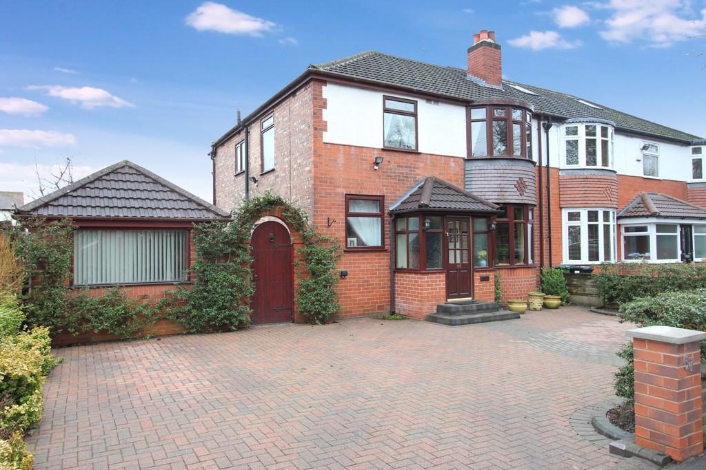 4 Bedrooms Semi Detached House for sale in Thornfield Road, Heaton Mersey/Moor