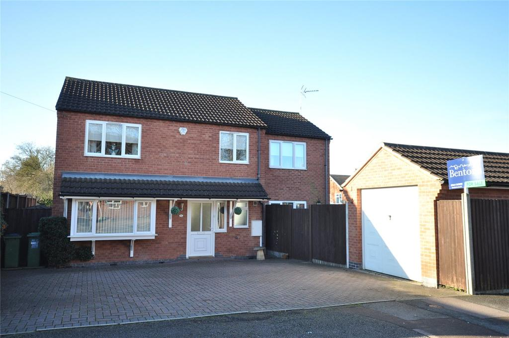 4 Bedrooms Detached House for sale in Victor Road, Glenfield, Leicester