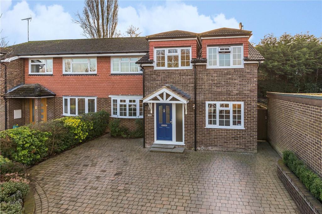 5 Bedrooms Semi Detached House for sale in Ravenscroft, Harpenden, Hertfordshire