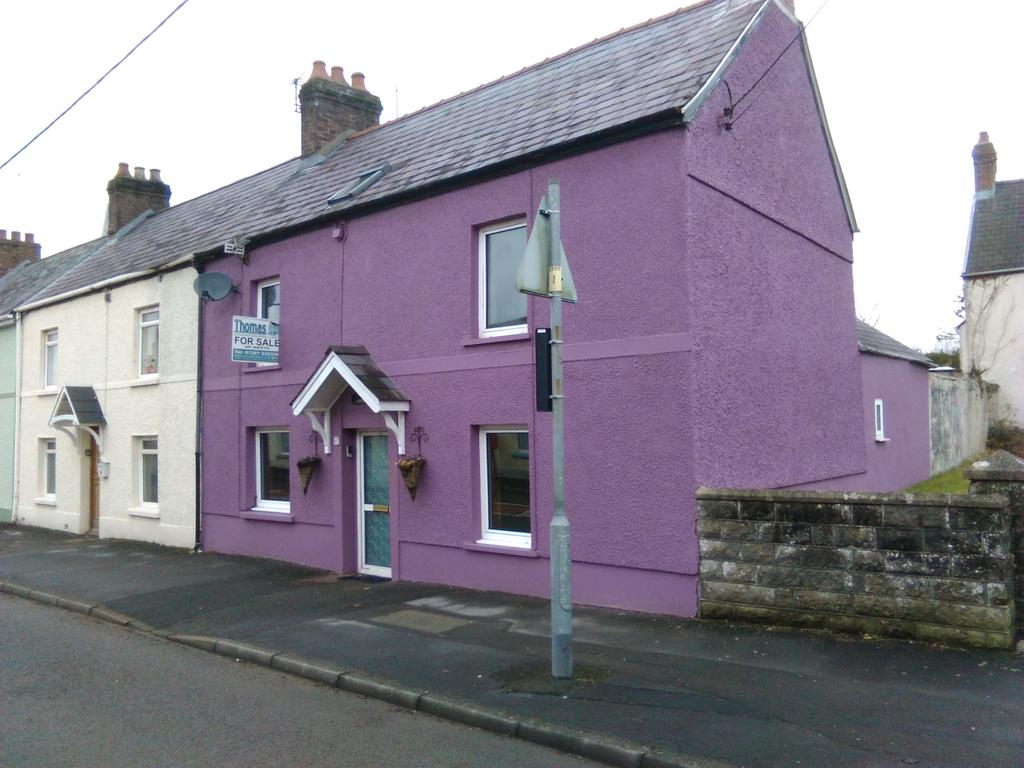 3 Bedrooms End Of Terrace House for sale in Tudor Cottage, 60 High Street, Abergwili, Carmarthen SA31 2JB