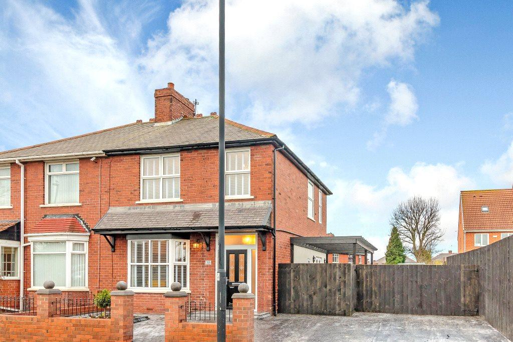 3 Bedrooms Semi Detached House for sale in Kings Road South, Wallsend, Newcastle Upon Tyne, Tyne Wear
