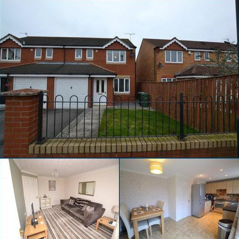 3 bedroom semi-detached house to rent - Dunscar, Houghton le Spring, Tyne & Wear, DH4