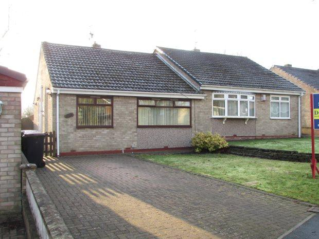 2 Bedrooms Semi Detached Bungalow for sale in PARKSIDE, SPENNYMOOR, SPENNYMOOR DISTRICT