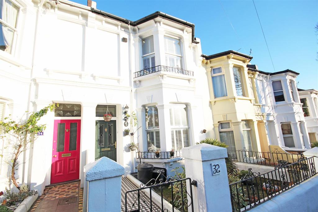 3 Bedrooms Terraced House for sale in Chester Terrace, Fiveways, Brighton