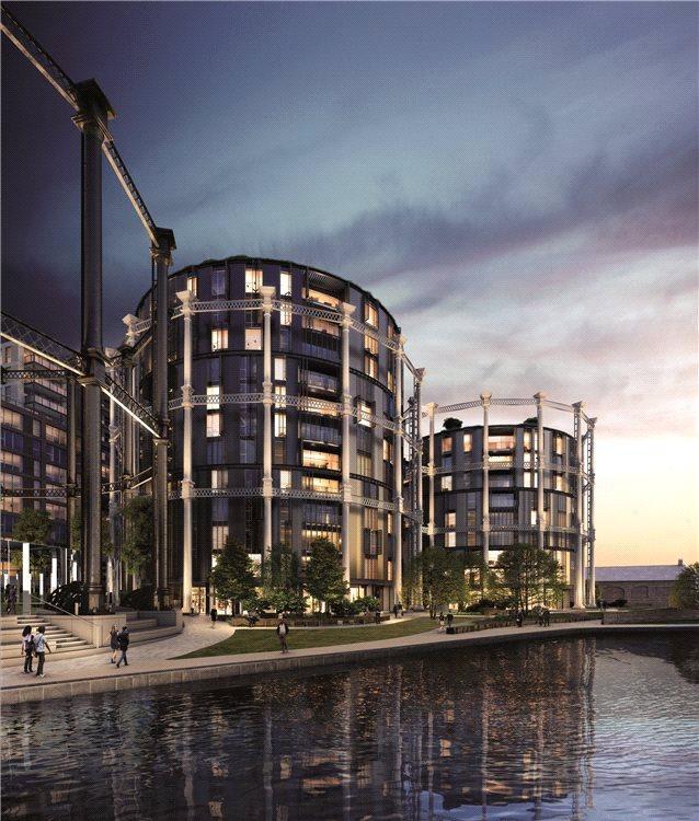 3 Bedrooms Flat for sale in Gasholders, 1 Lewis Cubitt Square, King's Cross, London, N1C