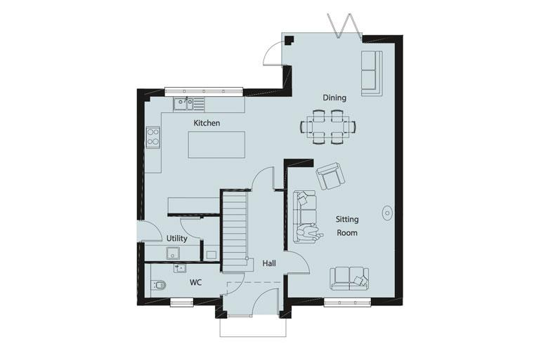 Floorplan 1 of 2: Floorplan GR FL