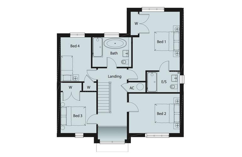 Floorplan 2 of 2: Floorplan 1st FL