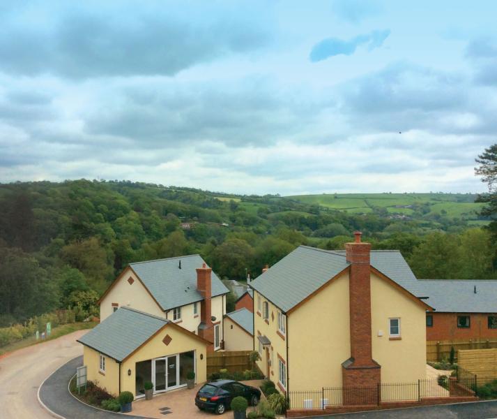 3 Bedrooms Detached House for sale in St Aubyn's Rise, Howden Court, Tiverton, Devon, EX16