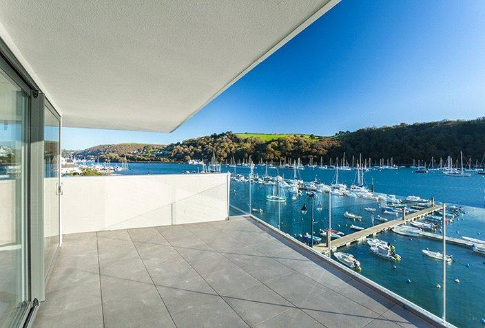 3 Bedrooms Penthouse Flat for sale in Penthouse, Sails, College Way, Dartmouth, Devon, TQ6