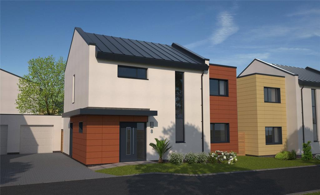 3 Bedrooms Detached House for sale in Plot 8 - The Henbury, The Chasse, Exeter Road, Topsham, EX3