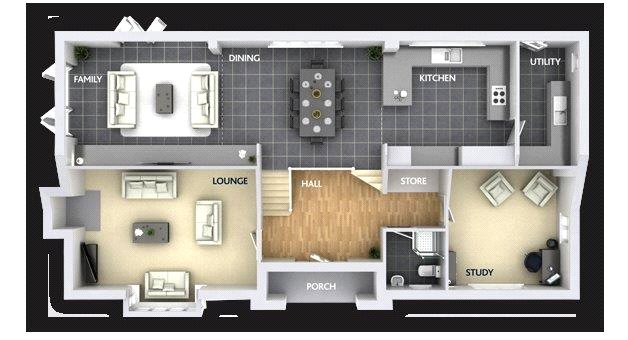 Floorplan 1 of 2: Ground Floor Plan