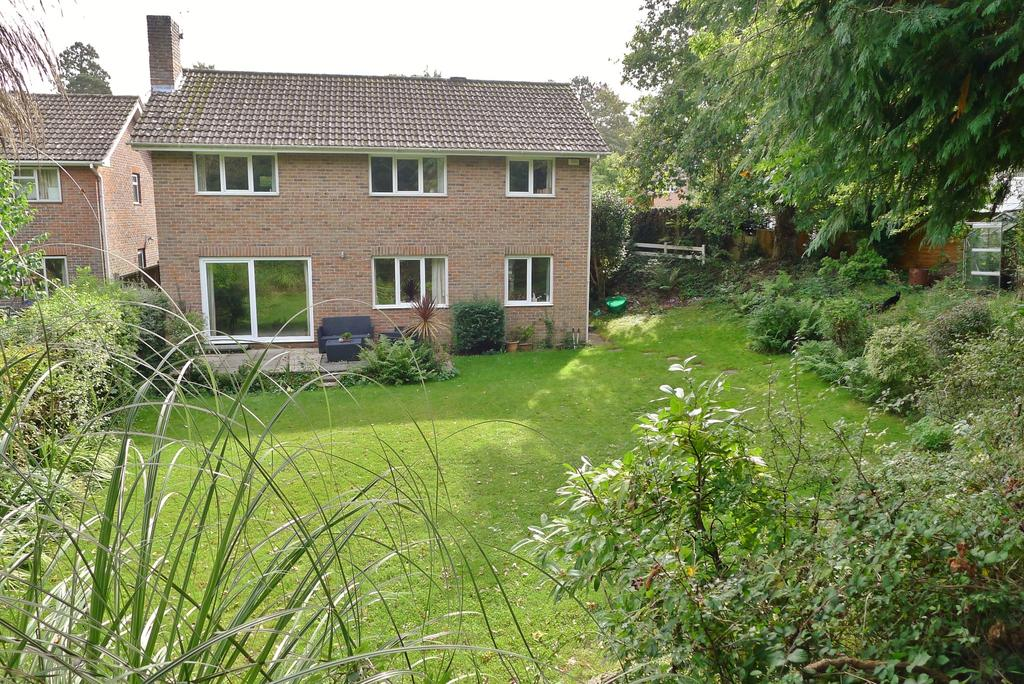 4 Bedrooms Detached House for sale in GREEN HOLLOW CLOSE, FAREHAM