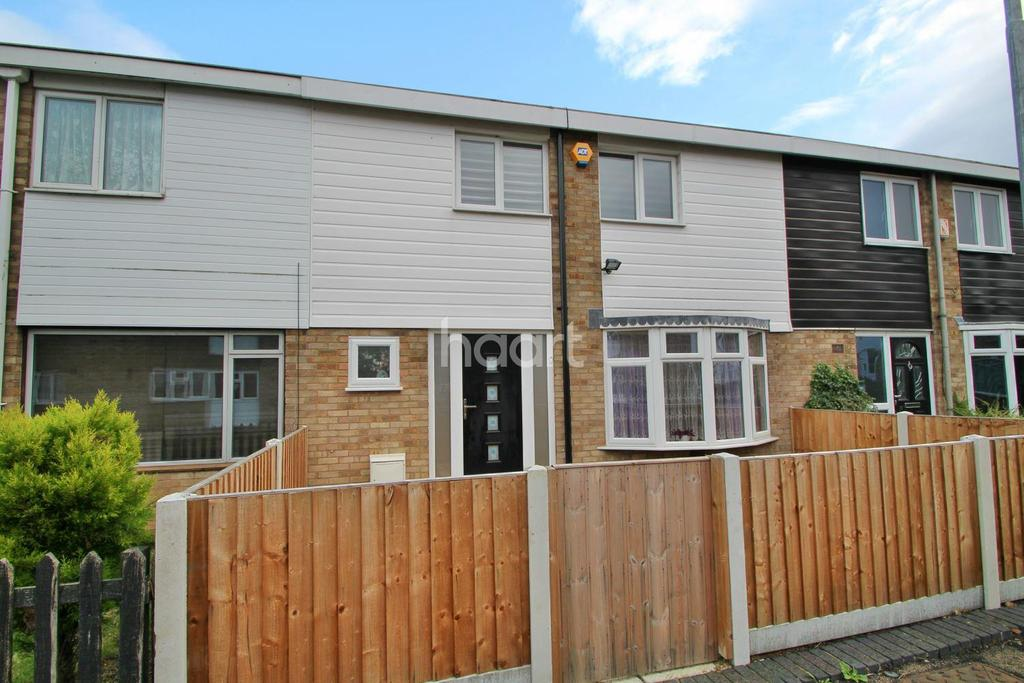 3 Bedrooms Terraced House for sale in Ayletts, Basildon