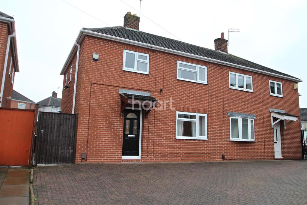 3 Bedrooms Semi Detached House for sale in Orchard Grove, Arnold, Nottingham