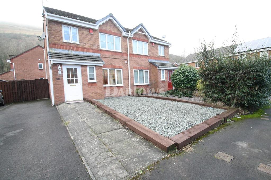 3 Bedrooms Semi Detached House for sale in Victoria Avenue, Victoria, Ebbw Vale, Gwent