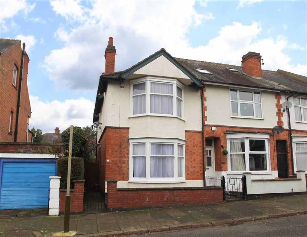 4 Bedrooms Semi Detached House for sale in Sunnycroft Road, Western Park, Leicester