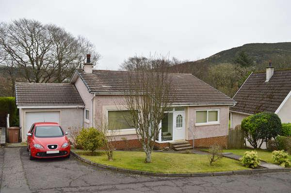 2 Bedrooms Detached Bungalow for sale in 32 Kilruskin Drive, West Kilbride, KA23 9JA