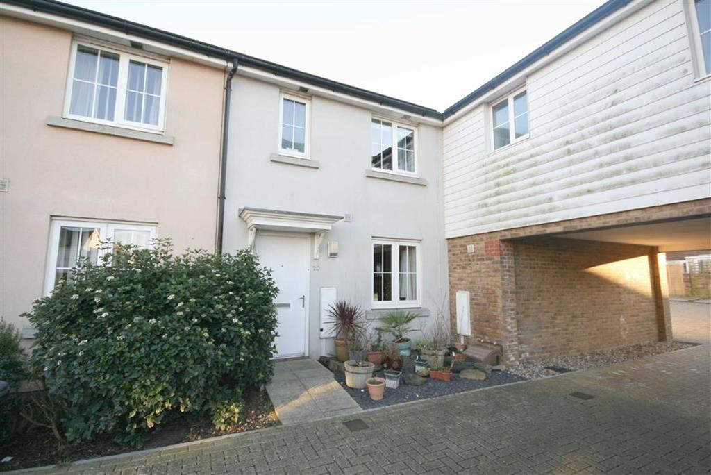 3 Bedrooms Terraced House for sale in Roundhouse Crescent, Peacehaven