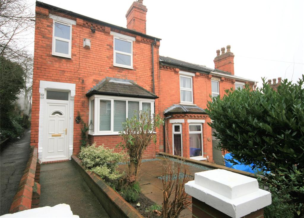 3 Bedrooms End Of Terrace House for sale in Clarina Street, Lincoln, LN2