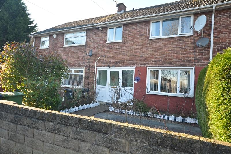 3 Bedrooms Terraced House for sale in Elgar Crescent, Llanrumney, Cardiff, Cardiff. CF3