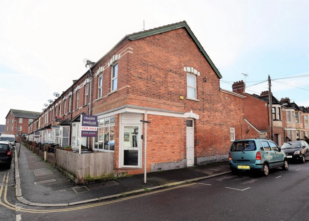 2 Bedrooms Maisonette Flat for sale in Buller Road, St Thomas, EX4