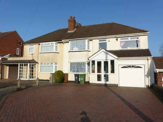 5 Bedrooms Semi Detached House for sale in Aldridge Road,Streetly,Sutton Coldfield