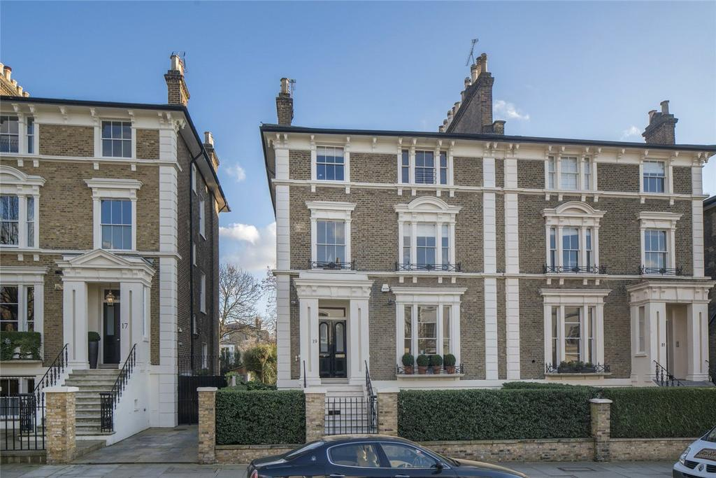 6 Bedrooms Semi Detached House for sale in Carlton Hill, St John's Wood, London, NW8