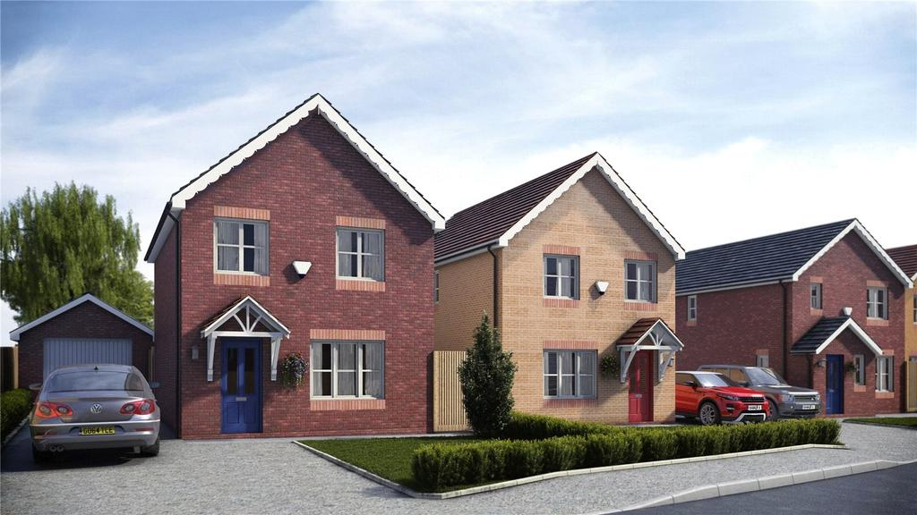 3 Bedrooms Detached House for sale in Pentrosfa Leys, Llandrindod Wells, Powys