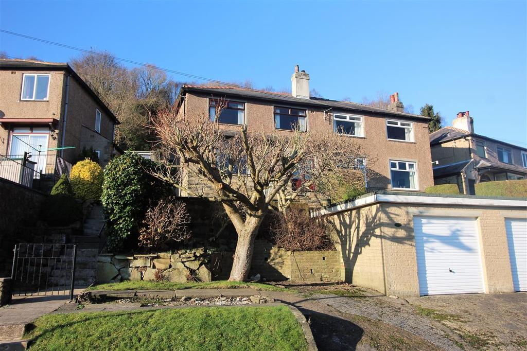 3 Bedrooms Semi Detached House for sale in Lime Avenue, Off Heptonstall Road, Hebden Bridge
