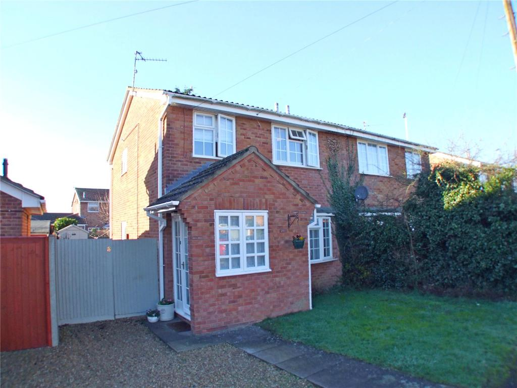 2 Bedrooms Semi Detached House for sale in Beech Close, Market Deeping, Peterborough, PE6