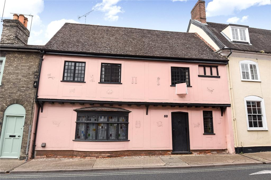 3 Bedrooms Terraced House for rent in Whiting Street, Bury St Edmunds, Suffolk, IP33