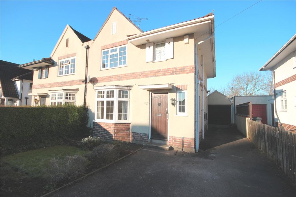 3 Bedrooms Semi Detached House for sale in Lake Road, Henleaze, Bristol, BS10
