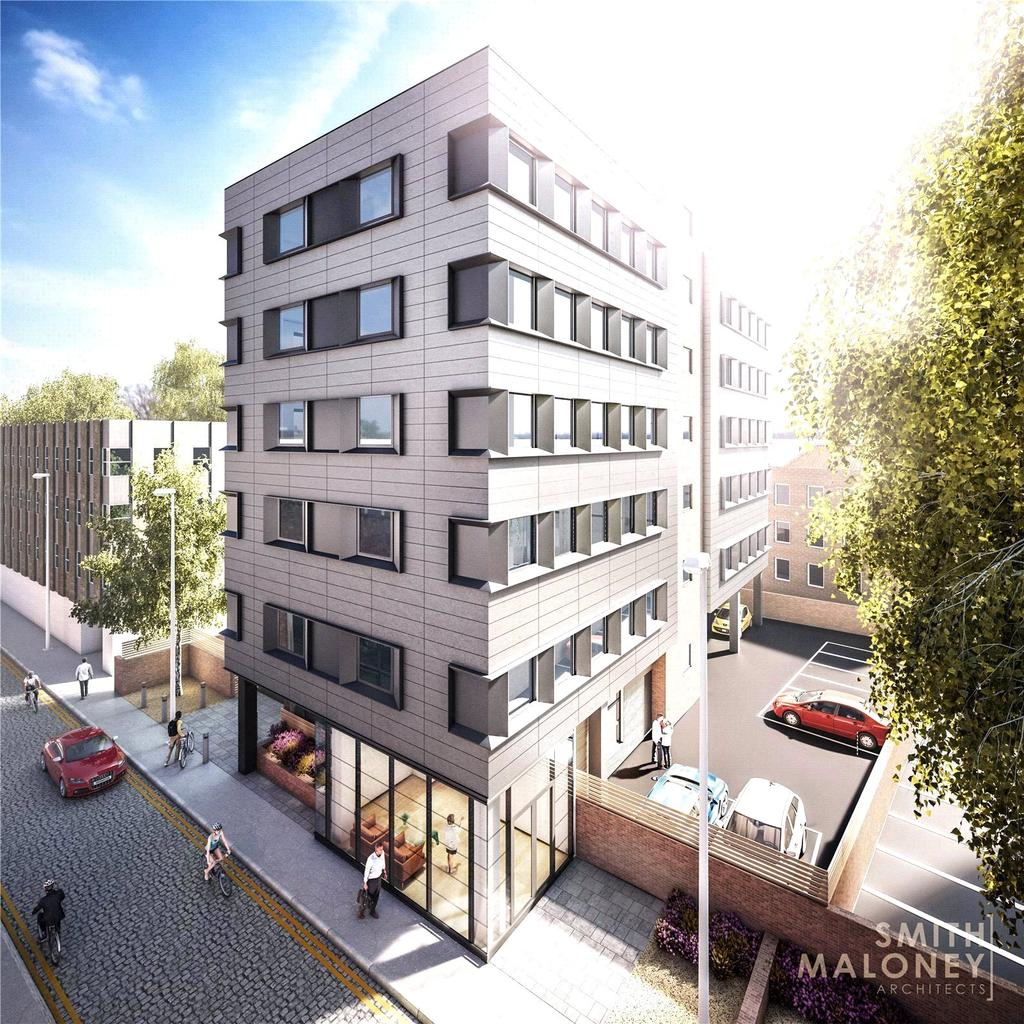 2 Bedrooms Apartment Flat for sale in Kenham House, Wilder Street, St Pauls, Bristol, BS2