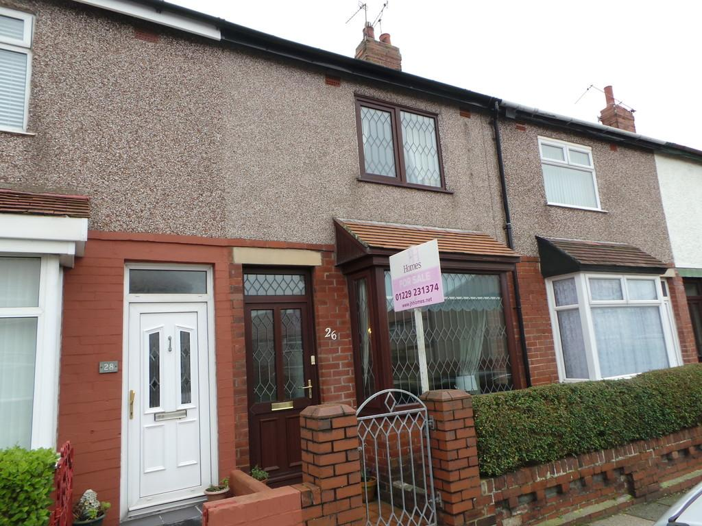 2 Bedrooms Terraced House for sale in Folkestone Avenue, Barrow-in-Furness