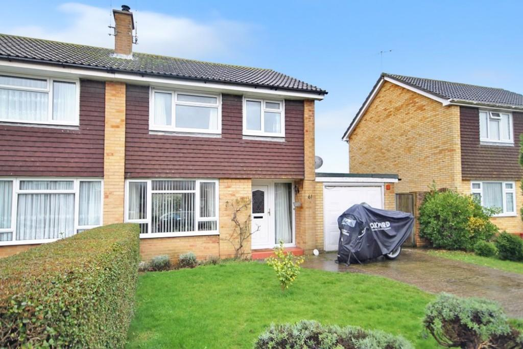 3 Bedrooms Semi Detached House for sale in 61 Upton Road